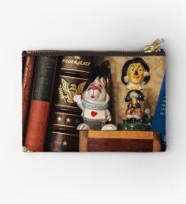 Bookshelf Zipper Pouch
