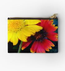 Yellow and red impact Studio Pouch
