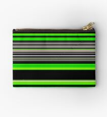 Green and Black Pattern 2 Studio Pouch