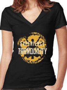 TRANSCENDENCE - Zenyatta ULT Women's Fitted V-Neck T-Shirt