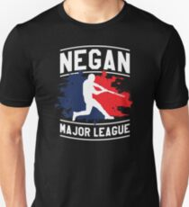 Negan Major League Baseball Lucille Walking Dead T-Shirt
