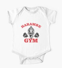 harambe gym One Piece - Short Sleeve