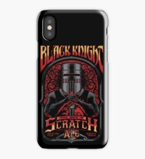 Holy Grail Black Knight Tis But A Scratch Ale iPhone Case