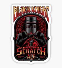 Holy Grail Black Knight Tis But A Scratch Ale Sticker