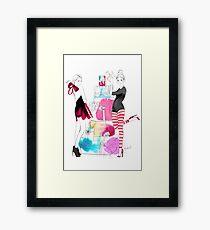 Christmas Girls Framed Print