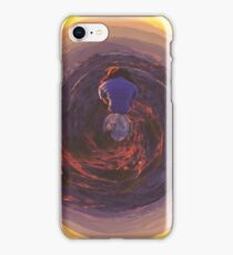 mountain sunset view  iPhone Case/Skin