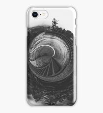 tree and bridge in the forest iPhone Case/Skin