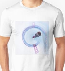 Golden Gate bridge, San Francisco, USA in small planet Unisex T-Shirt