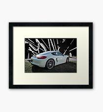 German Car Framed Print