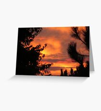 Milwaukee Sunset Greeting Card