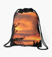 Milwaukee Sunset Drawstring Bag
