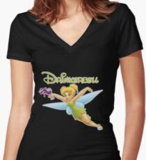 Drinkerbell! Women's Fitted V-Neck T-Shirt