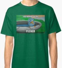 Trip Tank Pecker Bird T-shirt classique