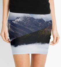 Between the Clouds Mini Skirt