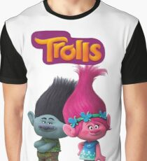 trolls branch and poppy Graphic T-Shirt