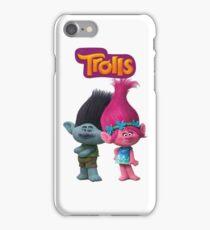 trolls branch and poppy iPhone Case/Skin