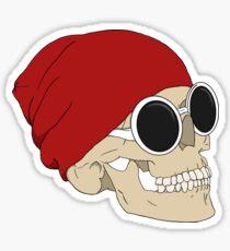 Tyler Skull Sticker
