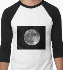 Supermoon Men's Baseball ¾ T-Shirt