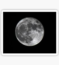 Supermoon Sticker