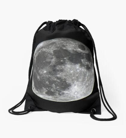 Supermoon Drawstring Bag