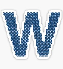 Fly The W - Ugly Christmas Sweater  Sticker