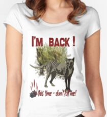 I'm Back Fitted Scoop T-Shirt