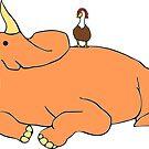 Bubba & Tootsie by itsaduckblur