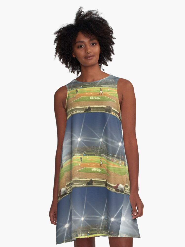 Take Me Out to the Ballgame Collection  A-Line Dress Front