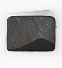 The stars wheel over Mt. Doom Laptop Sleeve