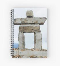 Whistler Inukshuk Spiral Notebook