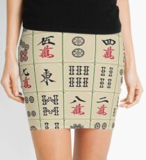 Mahjong Mini Skirt