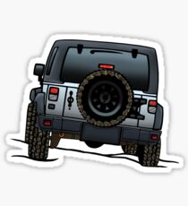 Jeep Wrangler JK Sticker