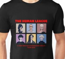 THE HUMAN LEAGUE - A VERY BRITISH SYNTHESIZER GROUP TOUR 2016 Unisex T-Shirt