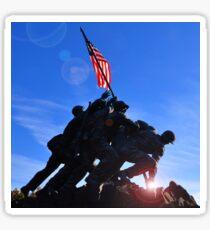 United States Marine Corps Memorial  Sticker