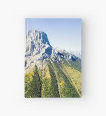 Banff mountain peaks Hardcover Journal