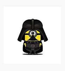 Mini IN Vader Photographic Print