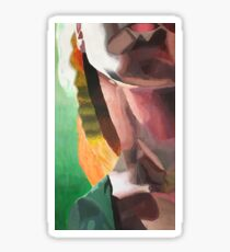 Impressionism Neck-Rianna Lindsey Sticker