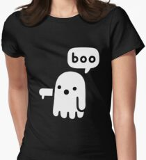 boo Women's Fitted T-Shirt