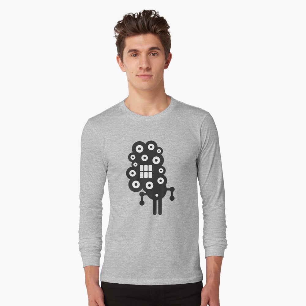 Robots in cell Long Sleeve T-Shirt Front