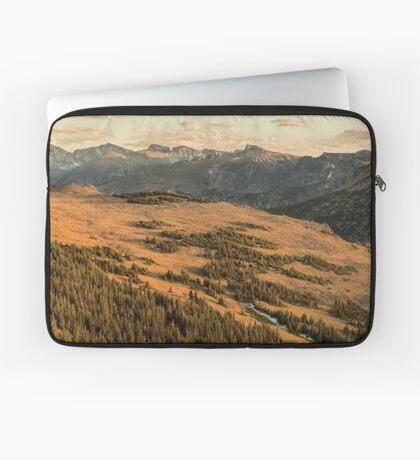 Tundra Sunset Laptop Sleeve