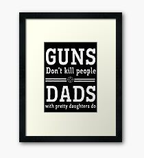 guns deads Framed Print