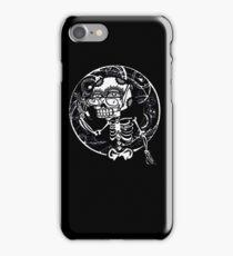 skull glasses iPhone Case/Skin