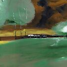 Abstract Landscape by Anil Nene