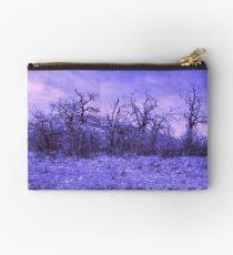 Purple Landscape Studio Pouch