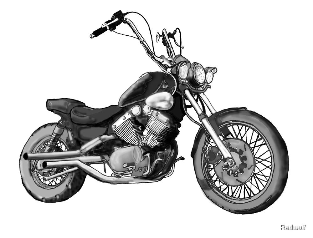 Custom Bike Yamaha 535 by Radwulf