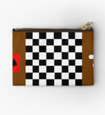 Chess Board, Dice, And Playing Card Studio Pouch