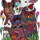Woodland Creatures by ogfx