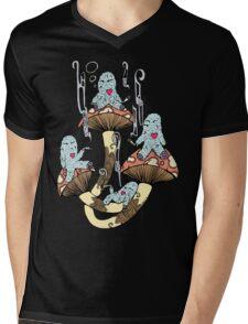 Four Little Monsters Mens V-Neck T-Shirt