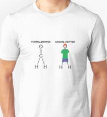 Formaldehyde Casualdehyde T-shirt  Unisex T-Shirt
