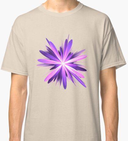 Flower blast #fractal art Classic T-Shirt